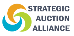 Real Estate Auction Co Business Liquidation Auctioneers Logo